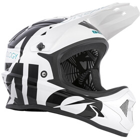 O'Neal Backflip Helm Slick white/black